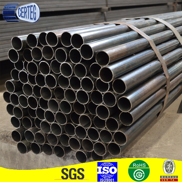 black iron tube/round pipe/oval tube for furniture