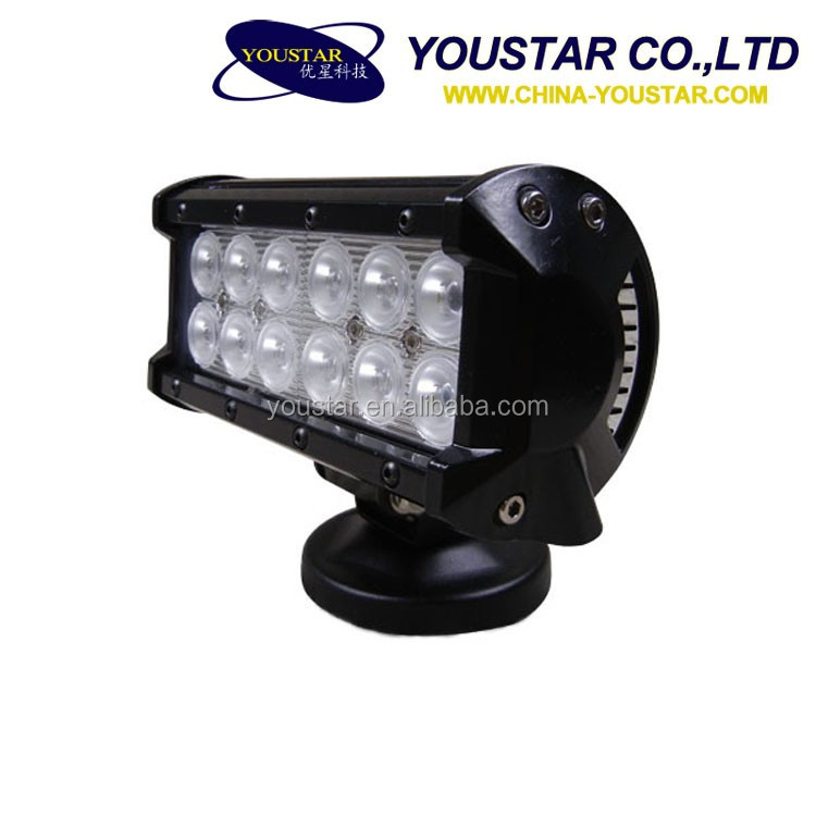 7inch 36w Driving light bar 36w led light bar for Atv SUV jeep/truck