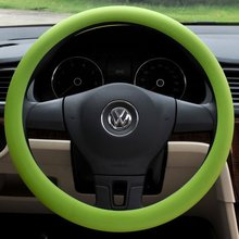 High quality Silicone steering wheel cover universal car wheel cover anti slip car steering wheel cover
