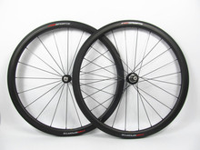 Road bike clincher carbon wheelset 38mm, China made light wide carbon fiber wheels 25mm width