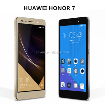 Original Huawei Honor 7 mobile phone 5.2 inch Octa Core 3GB RAM 16GB ROM Android 5.0 20 MP camera 1920x1080 Dual SIM Cards