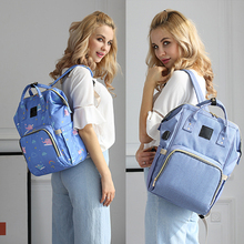 YD-1802 Multifunction Large Capacity Travel Backpack Mummy Baby Diaper Bag with USB charging