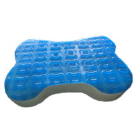 Decorative pet memory foam dog jumping cushion