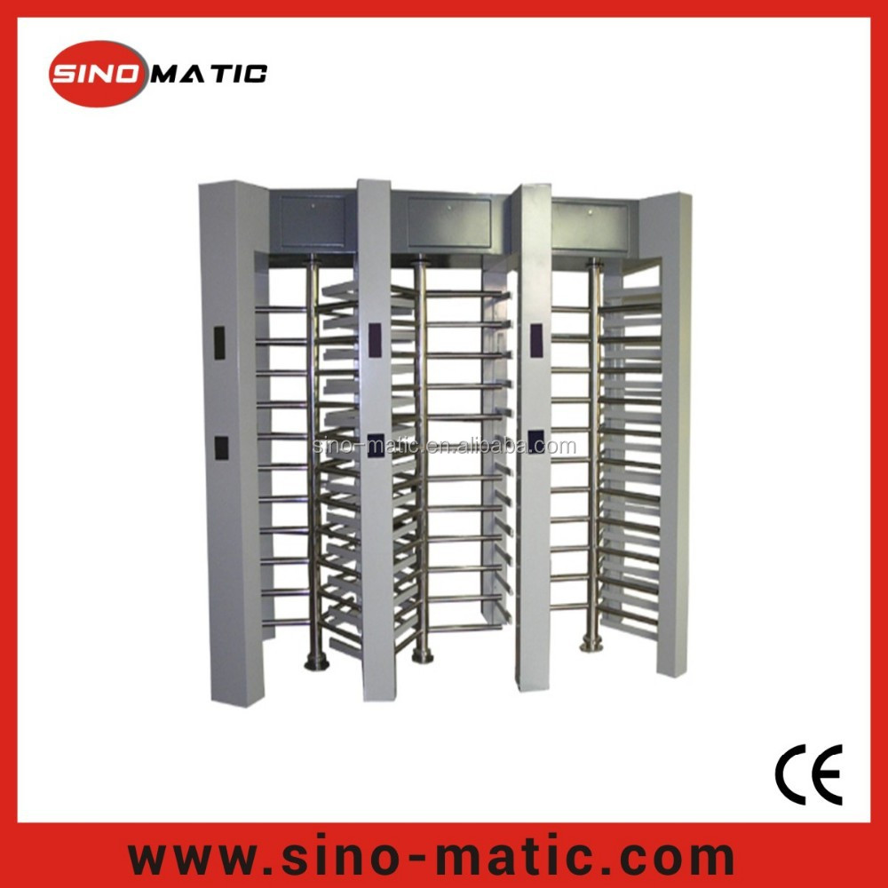 OEM/ODM Automatic Access Control System Revolving Full Height Turnstile Gate