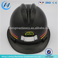 China supplier 2015 adjustable mining safety helmet