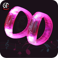 Hot Sale Fashion Grils Party Decor Favor Flashing Led Light Up Bracelet