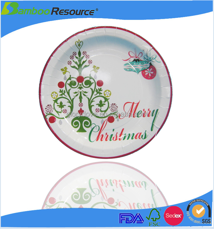 10Inch disposable paper plate