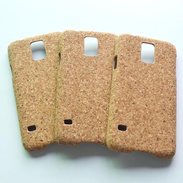 Boshiho New Arrival cork case for samsung galaxy s5 case