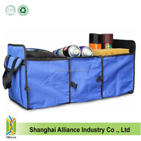Wholesale Two Compartment Folding Car Trunk Organizer