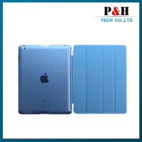 Universal 4 folding PC+PU Waterproof case for ipad 2 3 4
