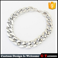 Hot Sale Women Chunky Gold Chain Necklace, Cheap Fashion Jewelry Made In China, Fancy Necklace Design