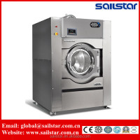 Sailstar industrial laundry clothes washing / drying / folding machine