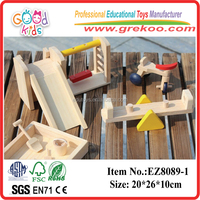 Pretend Play Toy Wooden Mini Furniture Toys