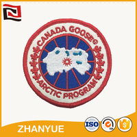 Good quality production factory hand embroidery badges uk