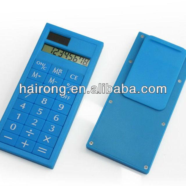 Hairong Solar Calculator Desktop Calculator with Clip MD-9391