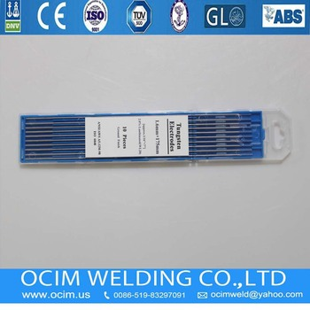 WL20 Lanthanated Grinding Tungsten Electrodes 1.6mm
