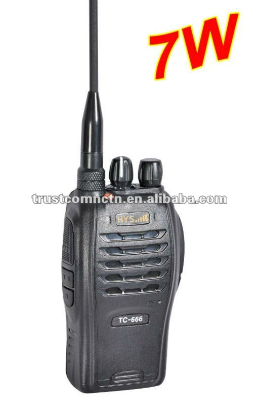 7 watts 2 way radios TC-666