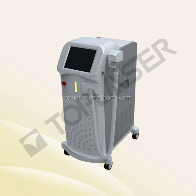 FDA Approved Speed 808nm Diode Laser Hair Removal Machine with Sapphire Contact Cooling Tip