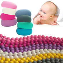 2014 New Products Food Grade Silicone Teething Necklace Custom Design&Freshwater Pearl Necklace