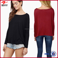 Alibaba china clothing long sleeve women top 2015 women apparel