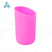 Customized oem silicone cup sleeve special design silicone glass bottle sleeves