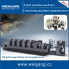 ZX-320 weigang roll feeding 5color sticker label offset printing machine/offset printer /sticker printing/offset press