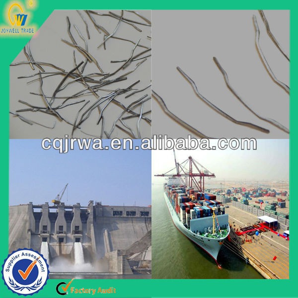 Washing Resistance Hooked Fiber Steel Used Reinforced Concrete