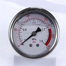 Specially designed Hot Sale High Quality clear to read low mount wika pressure gauge