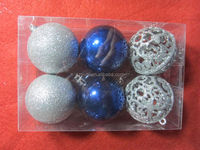 2014 New design hot selling large plastic bulk christmas ball new toys for christmas 2014