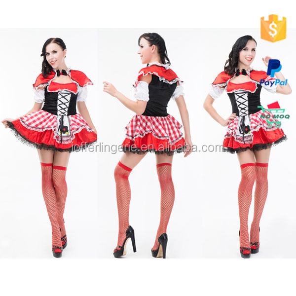 Hexin Plus Size Black and White Party Costumes