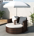 model garden furniture outdoor with umbrella