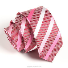 OEM Polyester Neckties,Mens Stripe Ties,Jacquard Woven Neck Ties