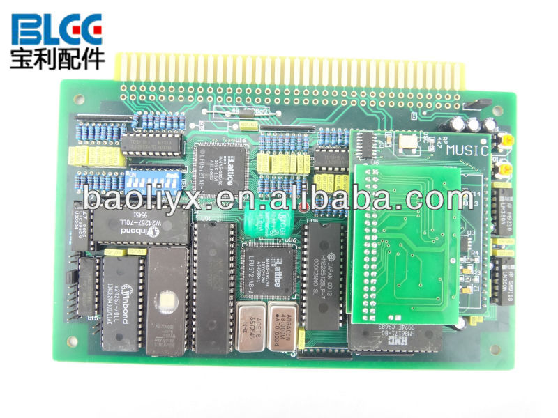 Hot spot amiral 5 in 1 Multigame PCB Board