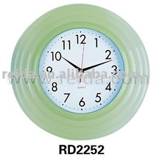 nice design wall clock plastic with music
