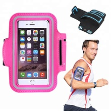 Water Resistant Cell Phone armband 4.7 5.5 inch custom running sports phone armband case