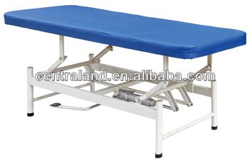 Hydraulic examination couch