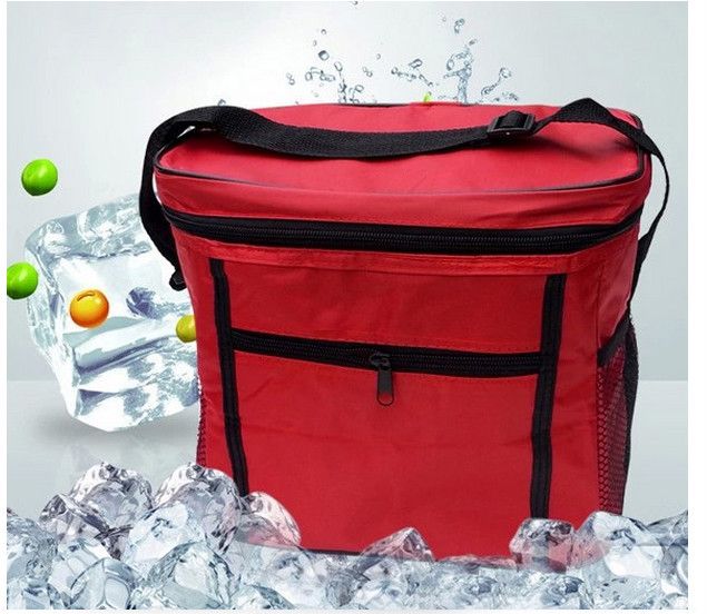Polyester Material and Picnic Bag Type Cheap Totes Picnic Cooler Basket for Outdoor