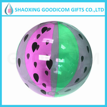 cheap ecofriendly custom inflatable clear plastic ball