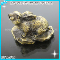 2014 Best Sales Gifts !! 12 chinese zodiac animals sculpture , 12 zodiac of Rabbit souvenir gifts GFT-3D2