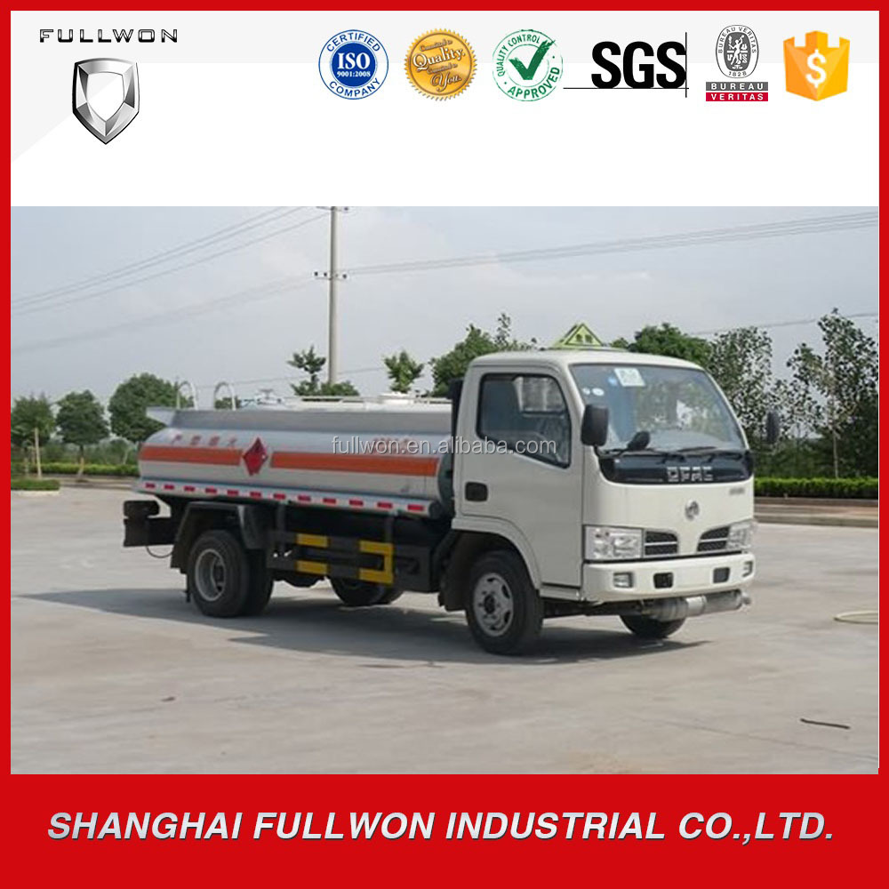 chinese dongfeng 4*2 chemical fuel oil delivery tanker trucks