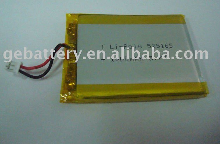 GEB525165 3.7V 1800mAh Lithium-Ion polymer battery cell