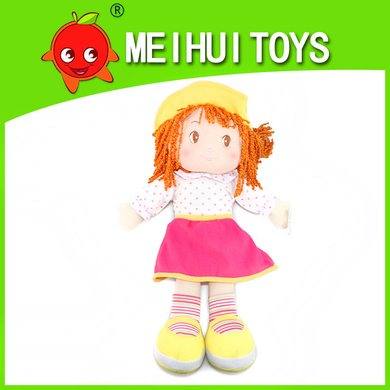 funny 20'' girl plush toy