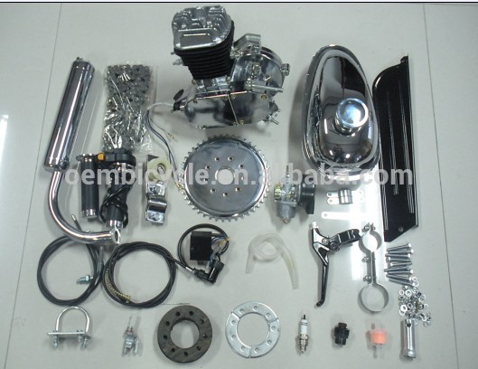 2 stroke 80cc bicycle gasoline engine kit