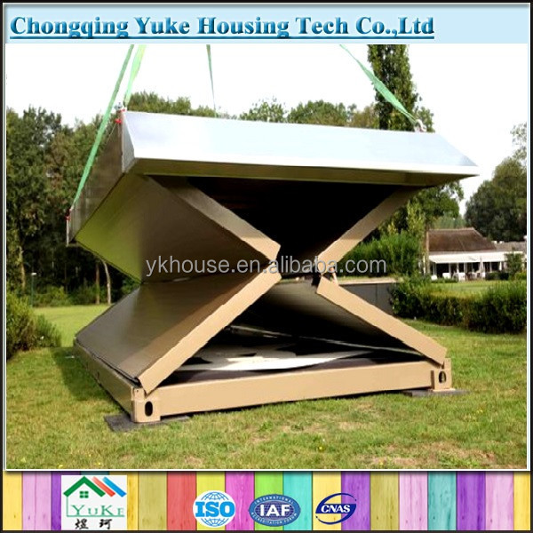 new cheap prefabricated portable house/folding house/foldable house for sale