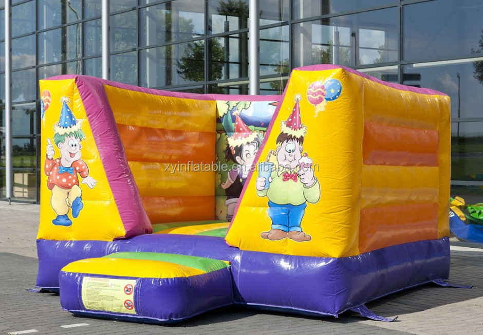 Factory outlet inflatable kids inflatable trampoline/birthday cartoon big bounce trampoline