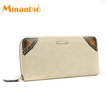 MINANDIO Hot style smart genuine leather magic secrid wallet women