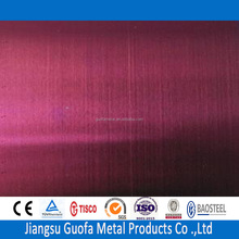 Bright Finish 2mm Thick H32 5083 5754 Red Color Coated Aluminium Sheets