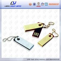 Mini Swivel flash drive 16gb, branded hard drive, low price specail usb flash 2gb
