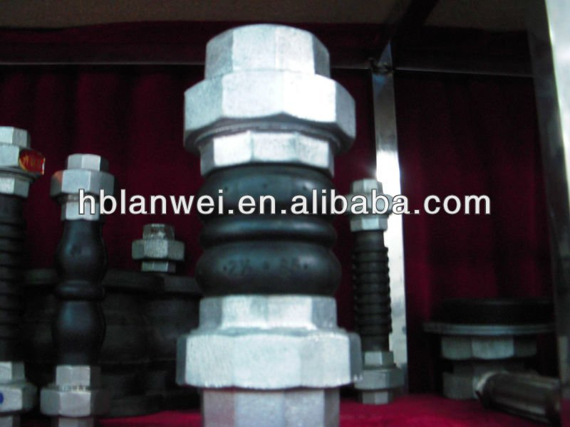 double sphere Rubber Expansion Bellow Joint