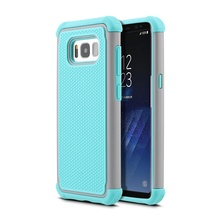 2017 Cell Phones Case For Samsung Galaxy S8 Silicone Rubber Case Hybrid TPU PC Cover